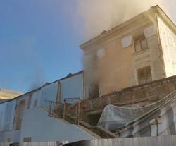 В Доме офицеров в Энгельсе произошел пожар