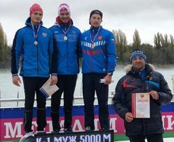 Байдарочник завоевал два Кубка России