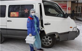 Красноярский оперный театр передал свой микроавтобус ковидным бригадам ФМБА