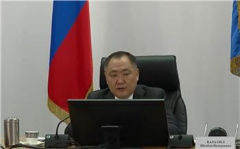 Глава Тувы Шолбан Кара-оол заявил о территориальных спорах с Красноярским краем и Иркутской областью