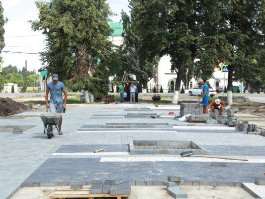 В Брянске у сквера «Литий» положат новое полотно на примыкающую автодорогу