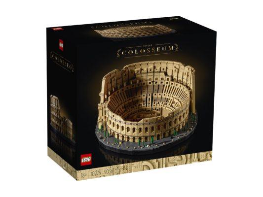 LEGO сделал рекордный набор «Колизей» на 9 тысяч деталей