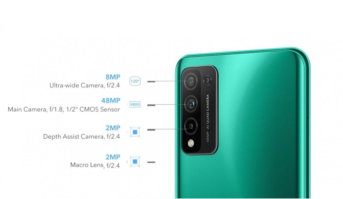 Представлен смартфон Honor 10X Lite с батареей емкостью 5000 мАч