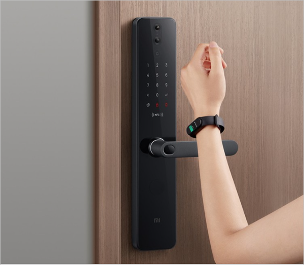 Xiaomi представила смарт-замок Mijia Smart Door Lock Pro