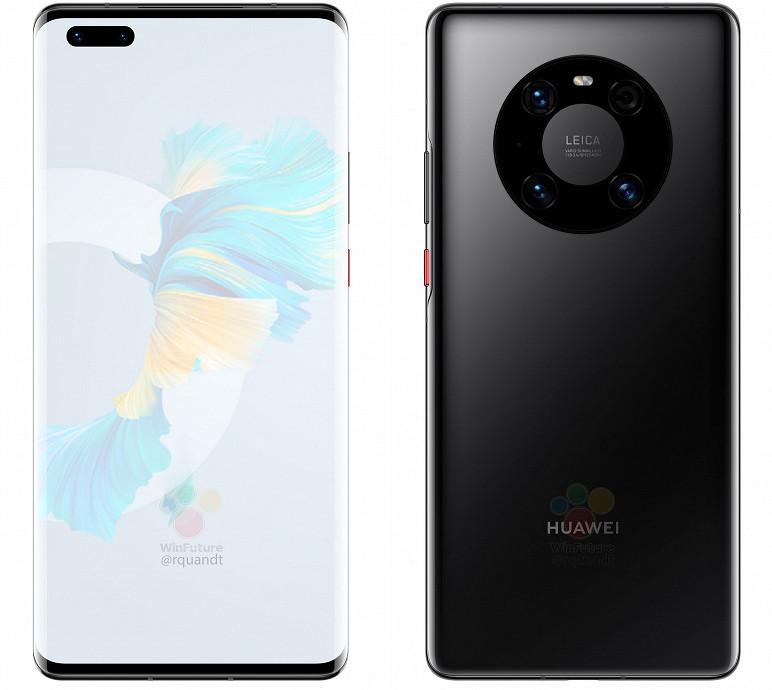 Huawei Mate 40 Pro рассекретили за несколько дней до анонса