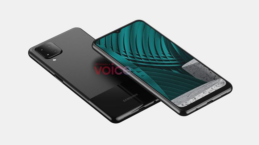Опубликованы 3D-рендеры смартфона Samsung Galaxy M12