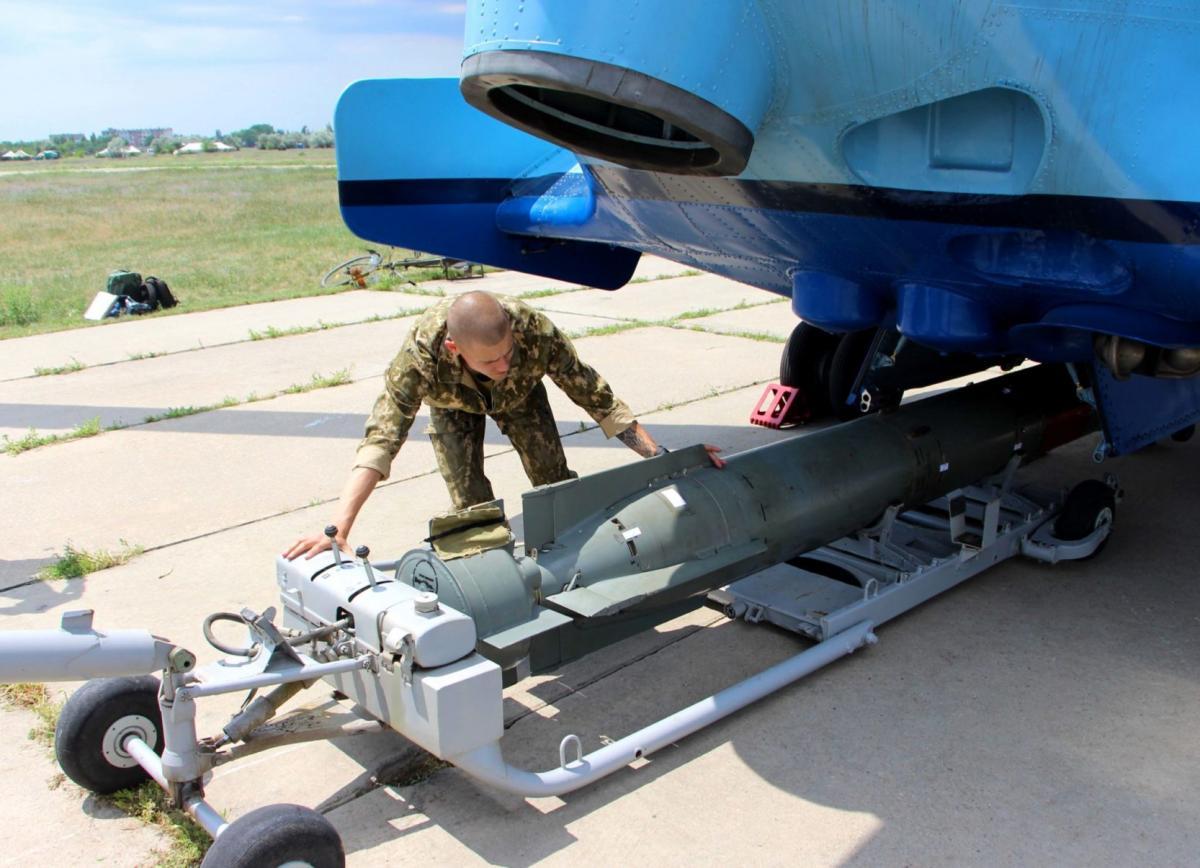 В Николаевской области завершились масштабные учения морской авиации