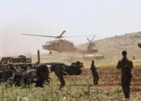 Армия Израиля нанесла удары по Сирии