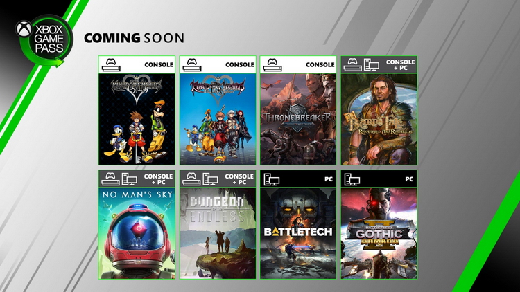 Новое в Xbox Game Pass: No Mans Sky, Thronebreaker, все Kingdom Hearts, The Bards Tale и многое другое