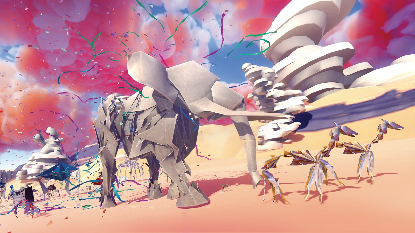 ПК-версия «бумажного» приключения Paper Beast лишится привязки к VR в конце октября