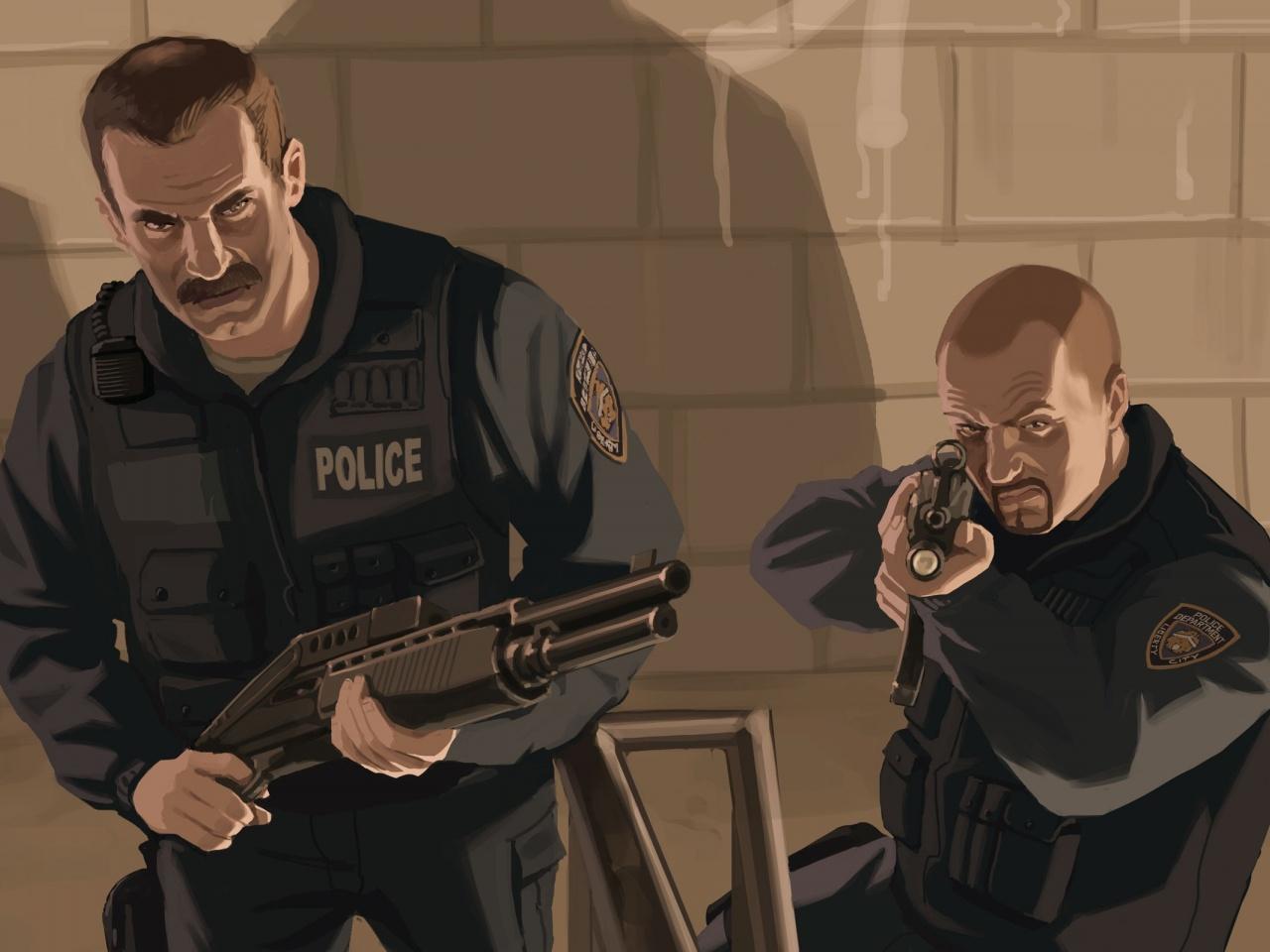 На страже закона: в мире видеоигр и в реальности
