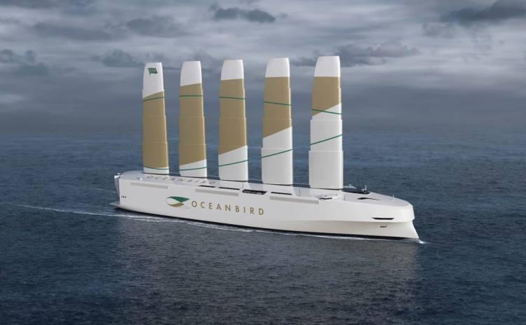 В Швеции построят самое крупное в мире судно, работающее на энергии ветра