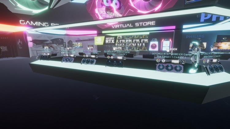 Galax создала виртуальный шоу-рум, где видеокарты NVIDIA всегда в наличии. И среди них обнаружилась GeForce RTX 3060