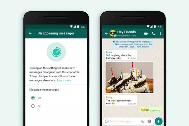 WhatsApp запустит в ноябре «исчезающие сообщения»