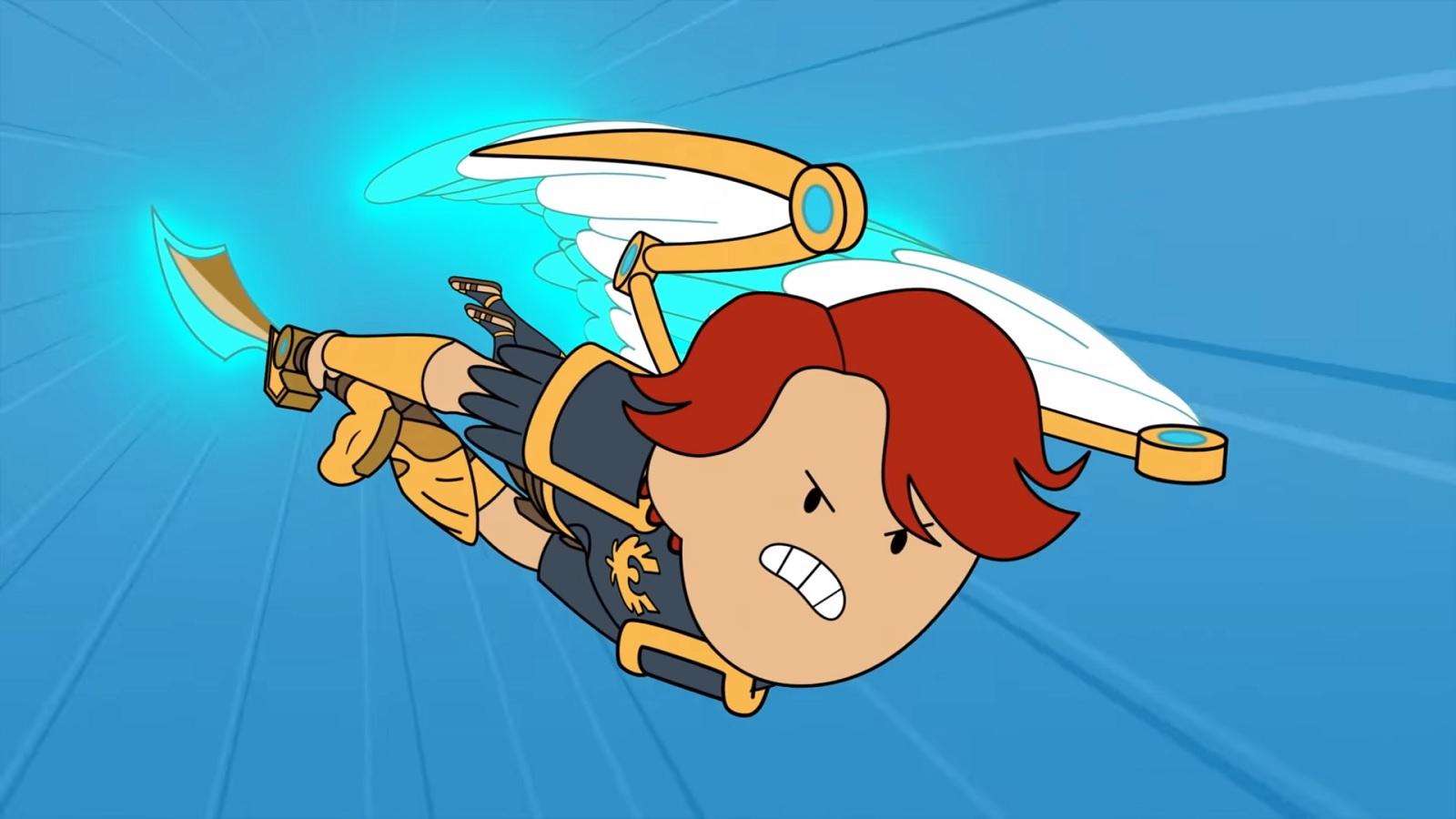 Феникс спешит на помощь: Ubisoft анонсировала кроссовер Immortals Fenyx Rising с мультсериалом «Время приключений»