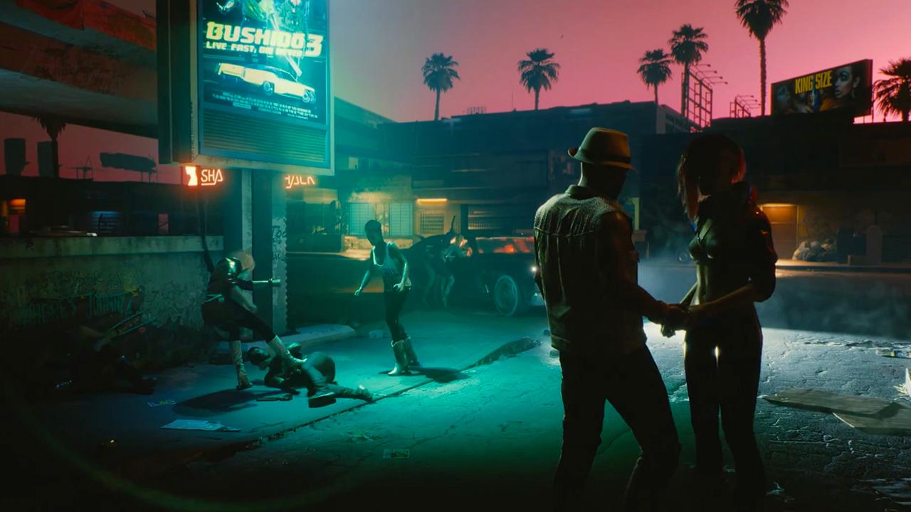 Видео: районы Найт-Сити, диалоги и Джонни Сильверхенд в свежем геймплее Cyberpunk 2077