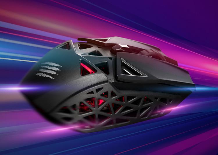 Лёгкая игровая мышь Mad Catz M.O.J.O. M1 снабжена подсветкой и датчиком на 12 000 DPI