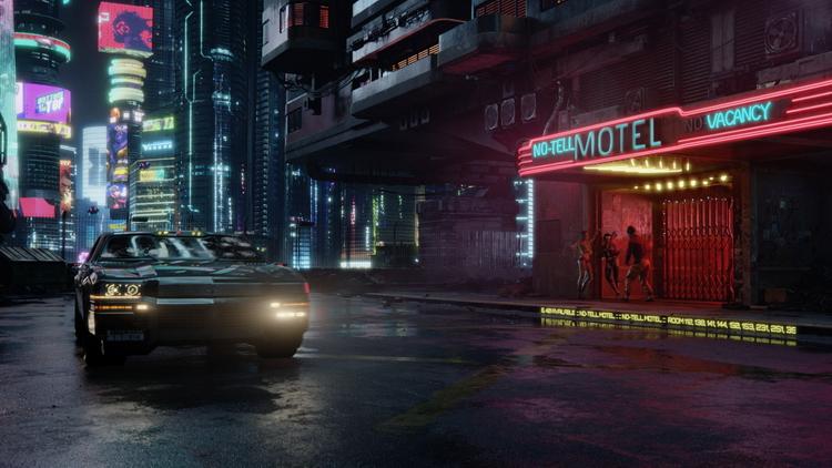 Консольный Найт-Сити: CD Projekt RED показала Cyberpunk 2077 на Xbox One X и Series X