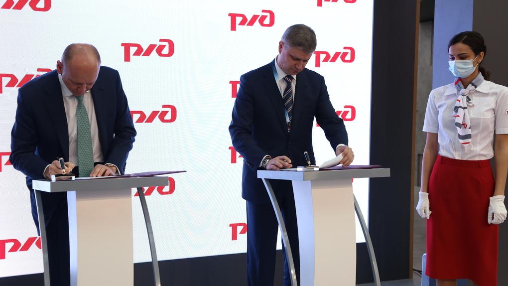 СТМ и РЖД договорились о выпуске локомотивов с асинхронным приводом