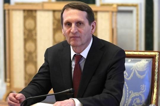Глава СВР обвинил Запад в попытках сорвать договорённости по Карабаху