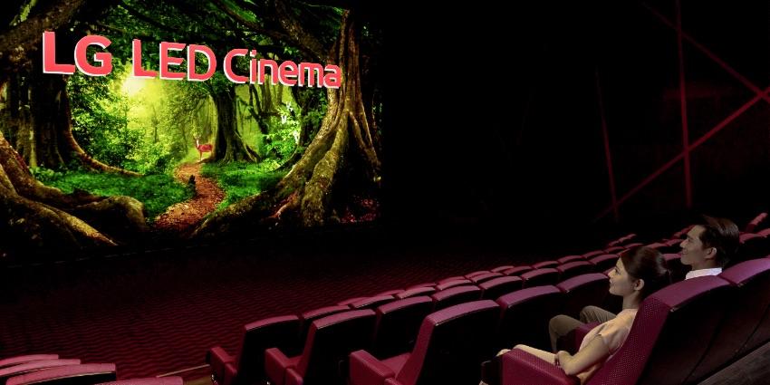 LG выходит с LED экранами на арену бизнеса кинопроката