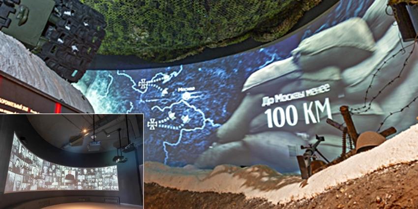 Лазерные проекторы Canon в новом музейном комплексе Зои Космодемьянской