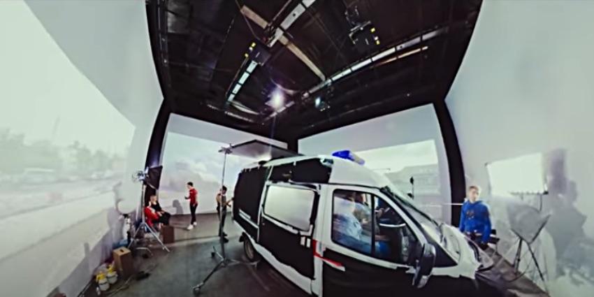 Проекторы Panasonic в съемках сериала 'Скорая помощь'