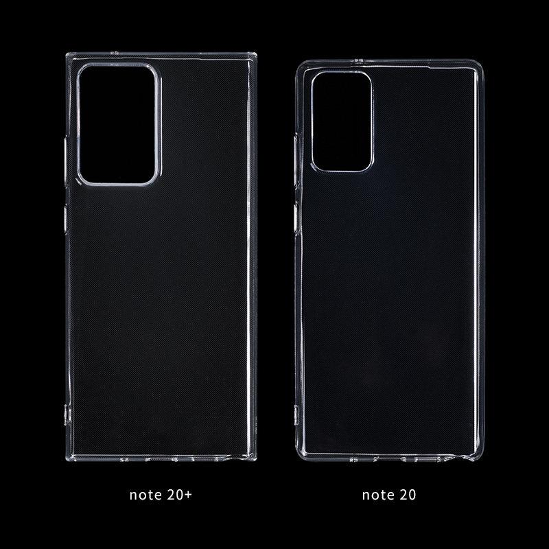 Размеры будущих флагманских смартфонов Galaxy Note20+ и Note20 сравнили
