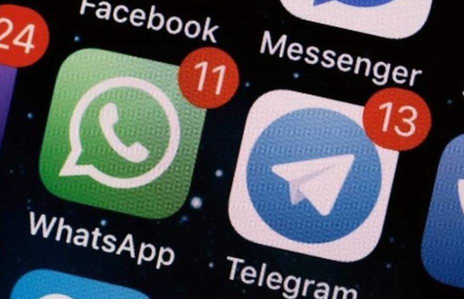 Telegram в России набрал пользователей, а WhatsApp потерял