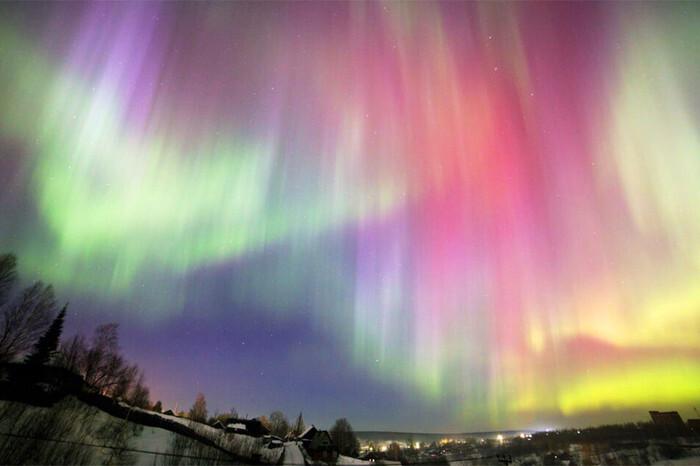 20 ноября россияне смогут увидеть северное сияние