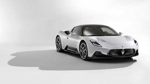 Maserati показала спорткар MC20