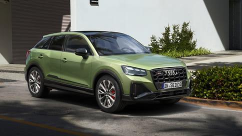 Audi обновила «заряженный» кроссовер SQ2
