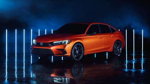 Honda раскрыла прототип Civic нового поколения