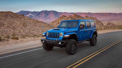 Jeep представил 476-сильный Wrangler Rubicon 392