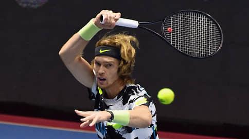 Андрею Рублеву рукой подать до Лондона // Победа на St. Petersburg Open стала для него четвертой в сезоне
