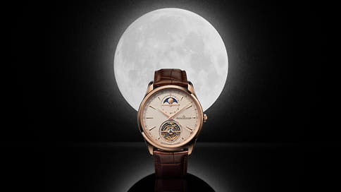 Jaeger-LeCoultre представляют часы Master Ultra Thin с указателем фаз Луны и турбийоном