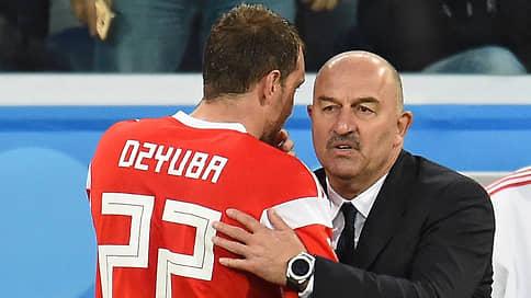 Черчесов заявил о возможном возвращении Дзюбы в сборную весной