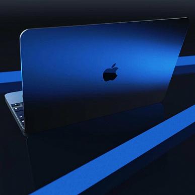 Новый MacBook Pro на базе собственного процессора Apple показали на концептуальных рендерах