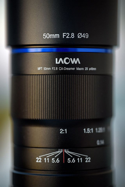 Появилось первое изображение объектива Laowa 50mm f/2.8 CA-Dreamer Macro 2X системы Micro Four Thirds