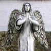 В омской колонии установили статую ангела