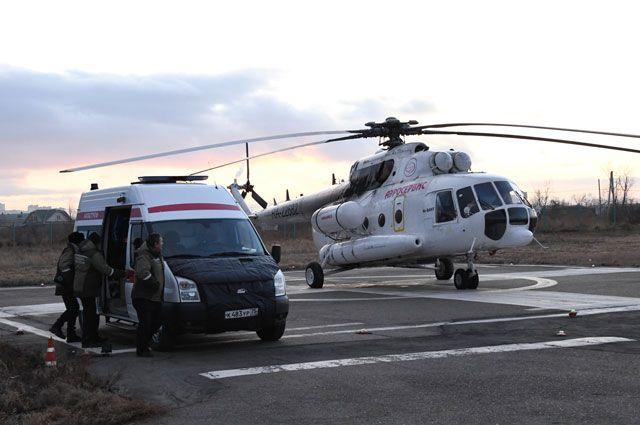 Где садится вертолет. В стране увеличивается число площадок для санавиации