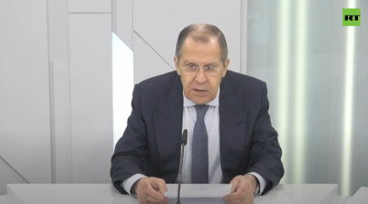 «Наша позиция опирается на положения самого соглашения»: Лавров о претензиях США к России по Договору об открытом небе