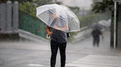 В Японии рекомендовано эвакуировать 70 тысяч жителей из-за оползней
