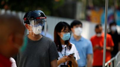 В Китае за сутки выявили шесть случаев инфицирования коронавирусом