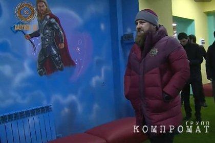 Кадыров поручил заменить персонажей Marvel в детском центре на чеченских героев