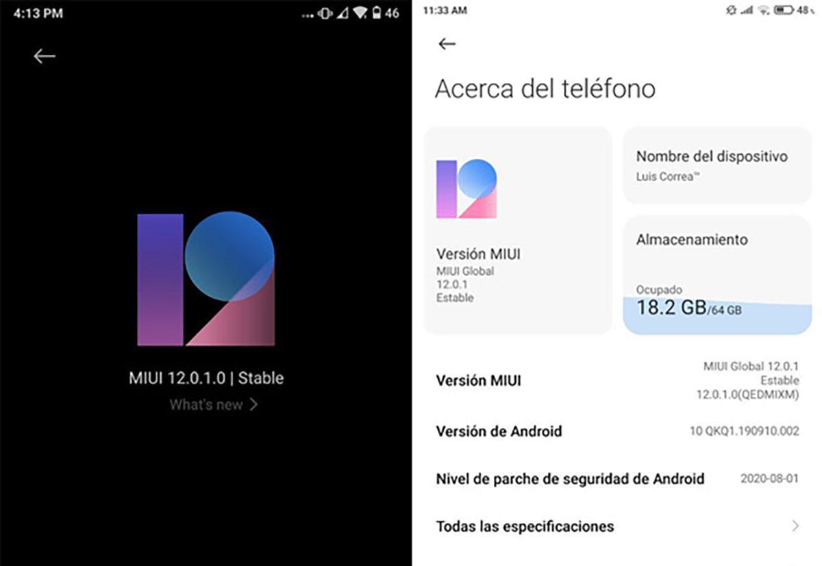 Xiaomi обновляет Mi Max 3 до MIUI 12 уже в Европе