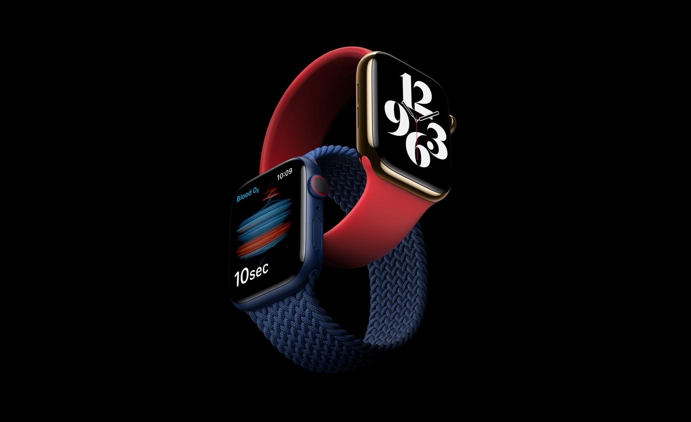 Когда смарт-часы Apple Watch Series 6 и Apple Watch SE начнут продаваться в Украине