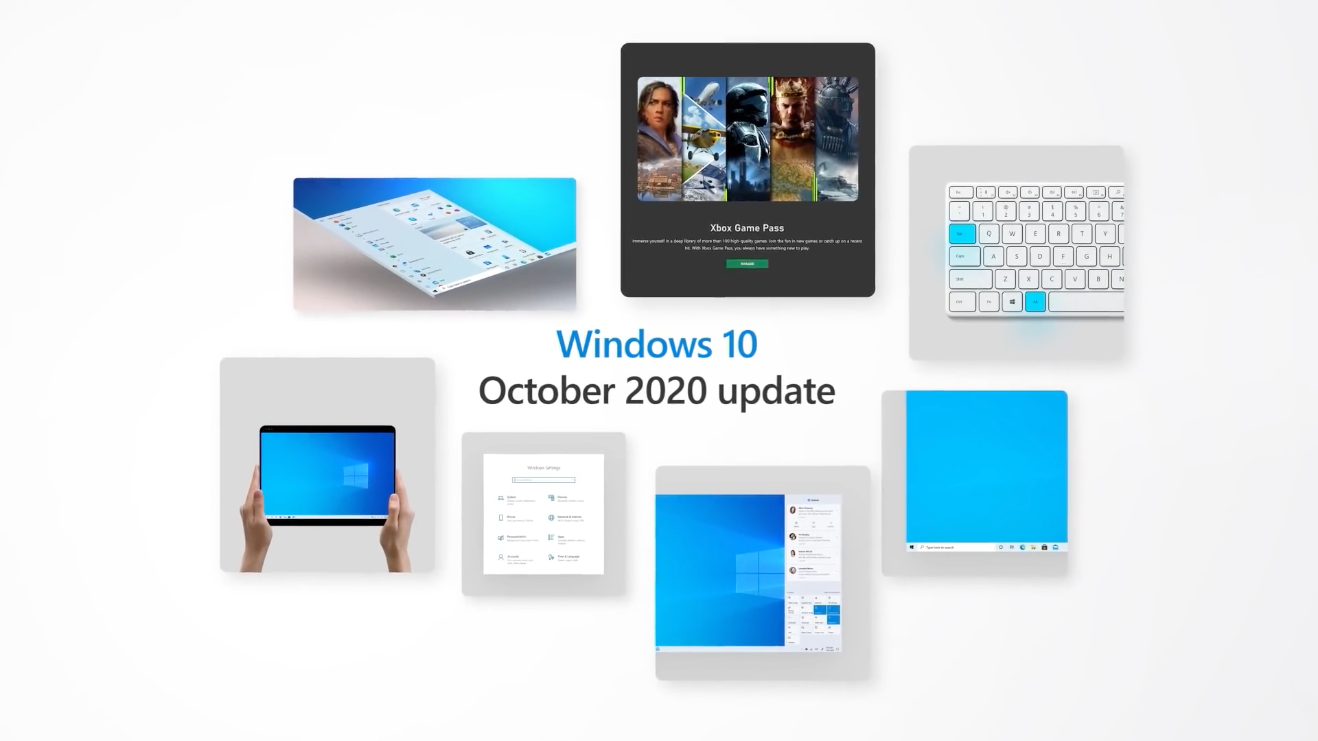 Microsoft выпустила Windows 10 October 2020 Update: новый дизайн меню Пуск, браузер Edge на базе Chromium и сервис Xbox Game Pass