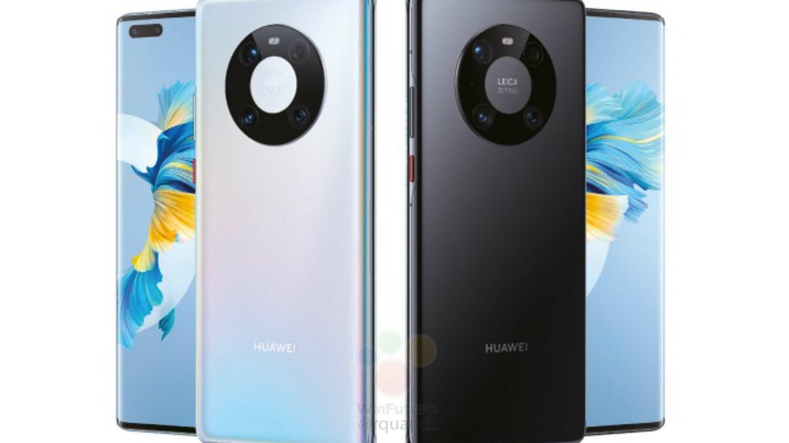 Раскрыты подробные характеристики и официальные пресс-рендеры флагмана Huawei Mate 40 Pro