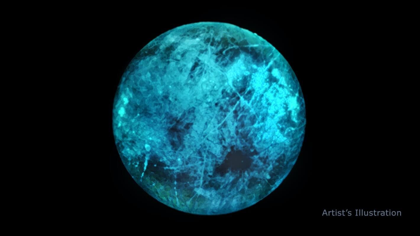 Cпутник Юпитера Европа светится в темноте. Но почему?